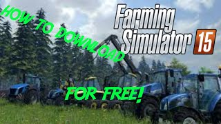 How to download and install Farming Simulator 2015 (torrent)(Copy and then paste on your browser this for the torrent: ..., 2015-05-01T12:53:17.000Z)