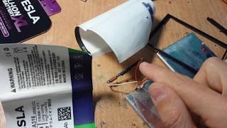Как переделать аккумулятор на примере телефона S-TELL M620