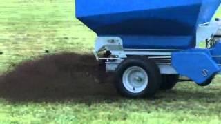 Top Dresser, Compost Spreader, Ecolawn Applicator