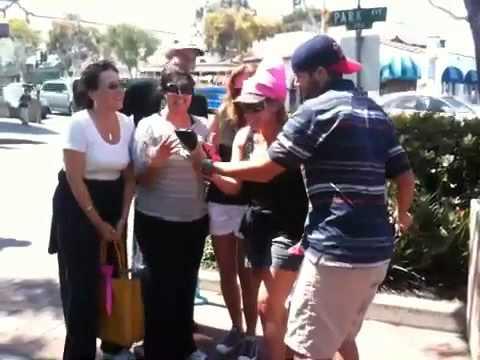 CSUF BlackBerry Beach Scavenger Hunt Karaoke