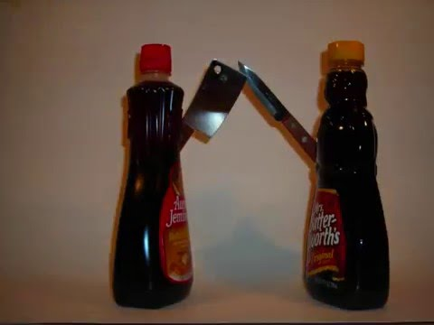 Syrup Wars - Aunt Jemima vs. Mrs. Butter Worth