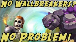 Clash of Clans: 5 Golem Strategy! & More EPIC War Highlights