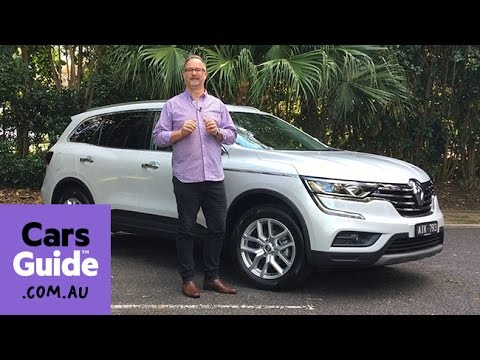 Renault Koleos 2016 review | first drive video
