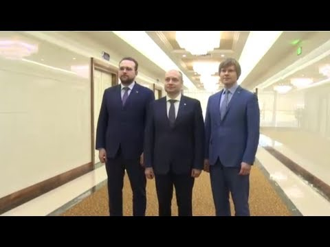 Russian Government Economic Delegation Arrive in Pyongyang