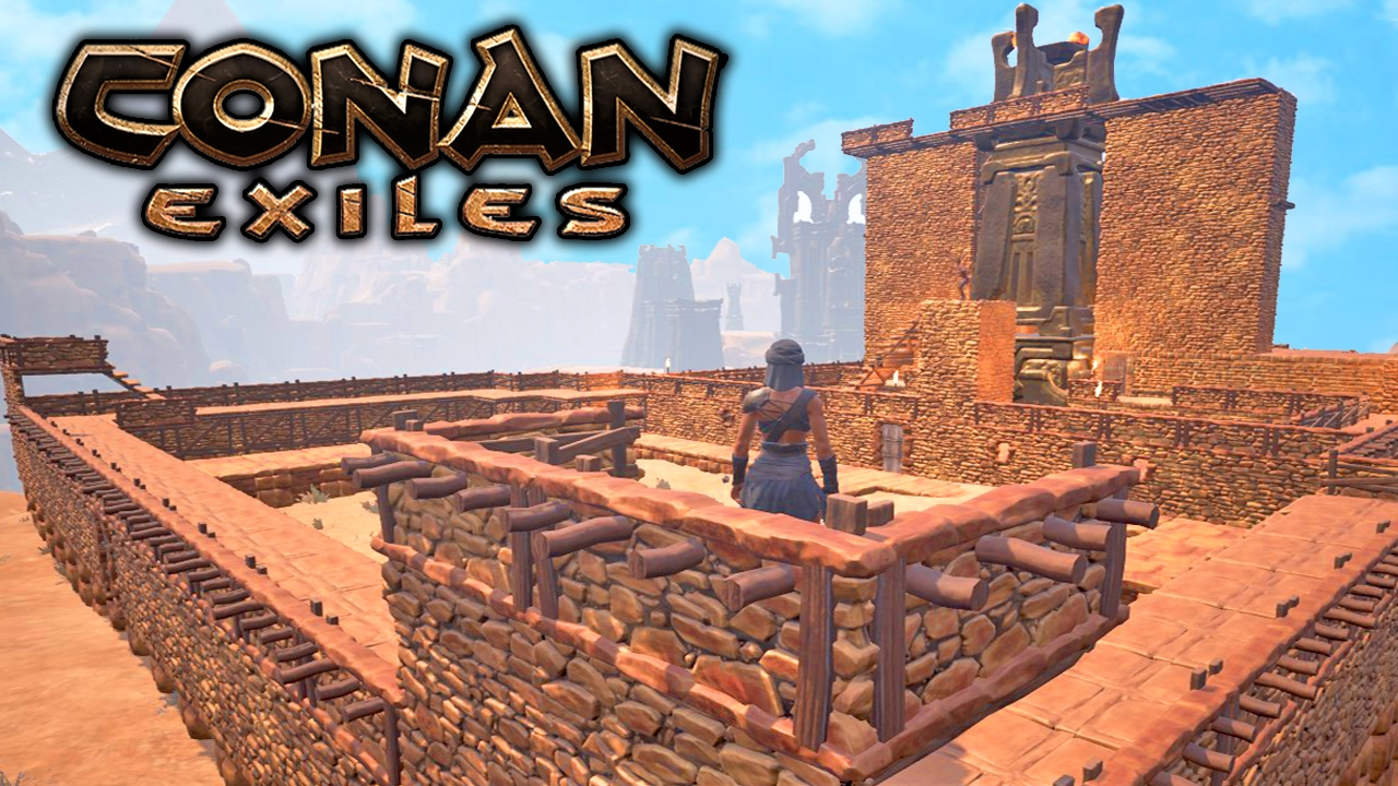 Image Result For Best Base Builds Conan Exiles