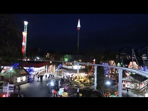 My First Hersheypark Christmas Candy Lane!