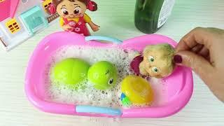 -Masha Tosbik Havuzda Oyun Oynuyor Eğitici Çocuk Videoları