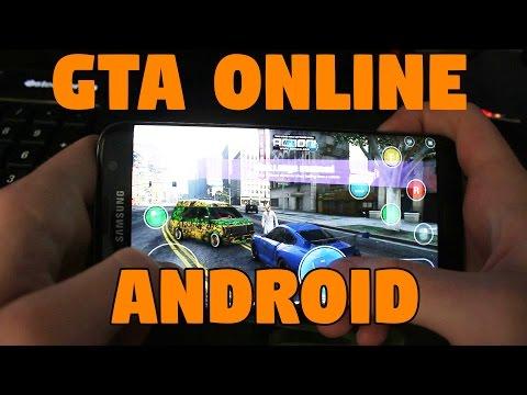 Гта 5 онлайн на анд