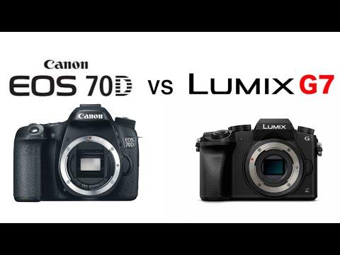 Panasonic G7 vs Canon 70D (Video Comparison) - YouTube