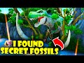 I Found Secret Fossils in the NEW Fortnite Creative Hub!