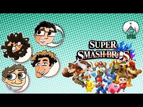 Super Sm4sh Bros. (WITH NICK FROM BEARS IN TREES!) | Loon Attic