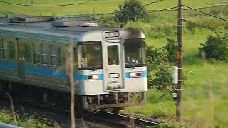 [警笛あり]JR四国 1000形気動車 高徳線 オレンジタウン駅付近通過