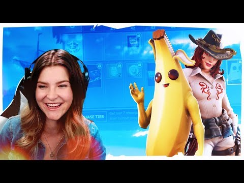 REACTING TO *NEW* SEASON 8 BATTLE PASS AND MAP! (Fortnite: Battle Royale) | KittyPlays