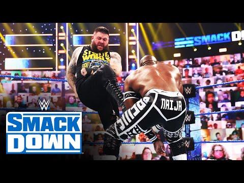 Kevin Owens vs. Apollo Crews – Intercontinental Title Match: SmackDown, June 4, 2021