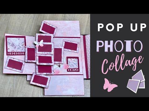 photo-collage-pop-up-card-tutorial-💟-popup-element-3d-karte- -scrapbook-page-ideas- -gift-idea