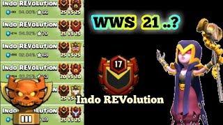 Waouww salah satu clans terbaik Indonesia 😎😎   Indo REVolution clash of clans indonesia