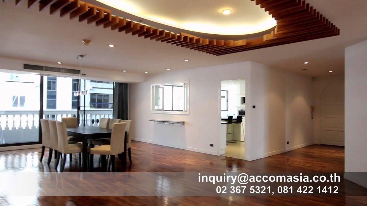 4 Bedrooms Apartment for Rent in Sukhumvit Asok BTS Bangkok