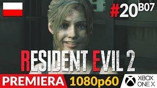 Resident Evil 2 PL - Remake 2019  #20 (#7 Claire B)  Laboratorium