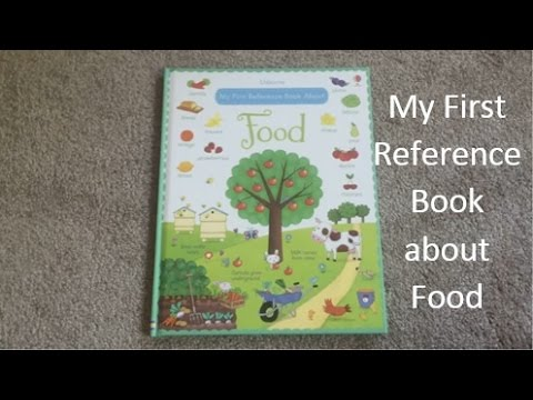 USBORNE READING CORNER | First Reference Book About Food