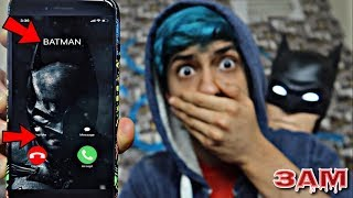 DO NOT CALL BATMAN AT 3AM!! *OMG HE CAME TO MY HOUSE*