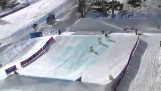 【ソチオリンピック】男子スキークロスで選手一掃の大コケ【歴史的一瞬】