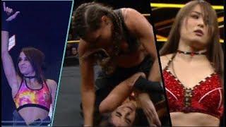 Io Shirai and Dakota Kai vs Marina Shafir and Jessamyn Duke 12/19/2018 (full match HD)