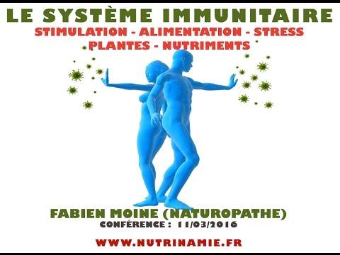 Le système immunitaire - Stimulation, alimentation, stress et plantes (Fabien Moine)