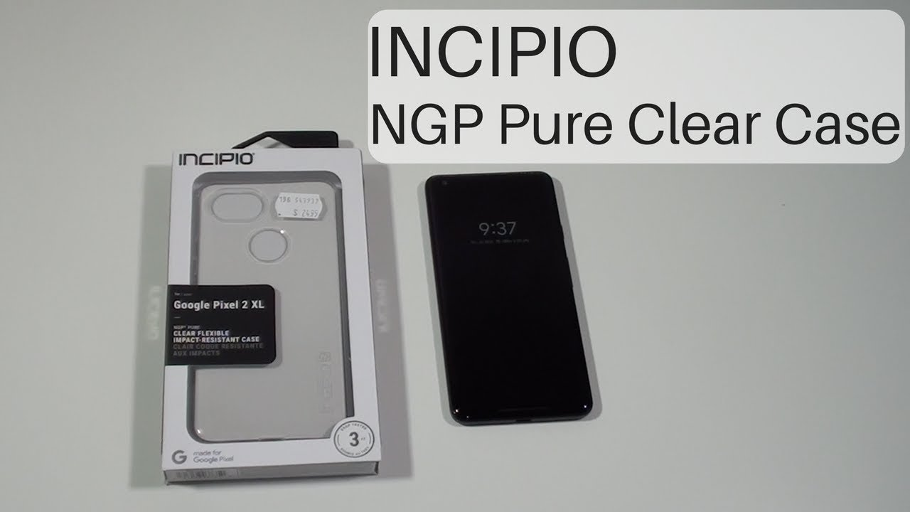 new concept 60f38 8a011 Incipio NGP Pure Clear Case for Pixel 2 XL