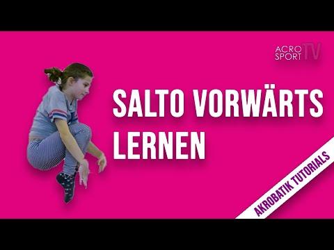 Salto vorwärts lernen | Boden & Minitrampolin | Akrobatik Tutorials | AcroSportTV