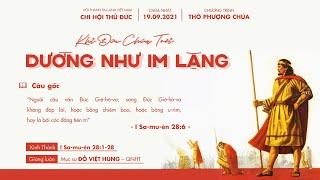 HTTL THỦ ĐỨC - Chương trình thờ phượng Chúa - 19/09/2021