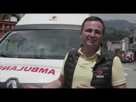 Cajamarca recibió ambulancia por parte del INVÍAS para el hospital Santa Lucía