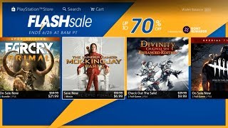 Ps4 PSN Flash Sale [Play Station Store 6/22/2018]