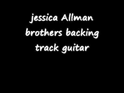 jessica Allman brothers backing track guitar