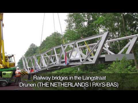 Railway Bridges in the Langstraat, Drunen, THE NETHERLANDS
