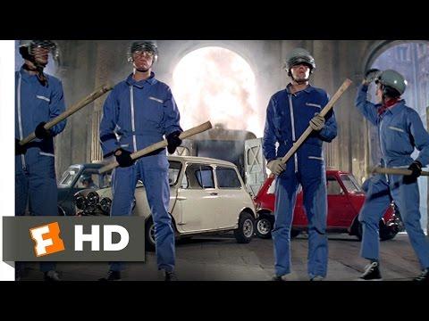 The Italian Job (5/10) Movie CLIP - Gold Heist (1969) HD