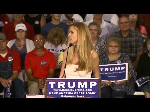 Ann Coulter Introduces Donald Trump at...