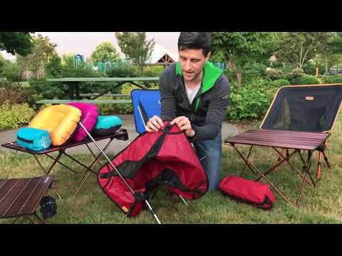 Trekology YIZI GO chair set up guide להורדה
