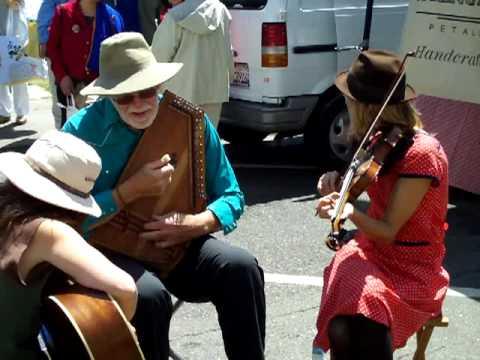 Earth Day Street Musicians in Berkeley
