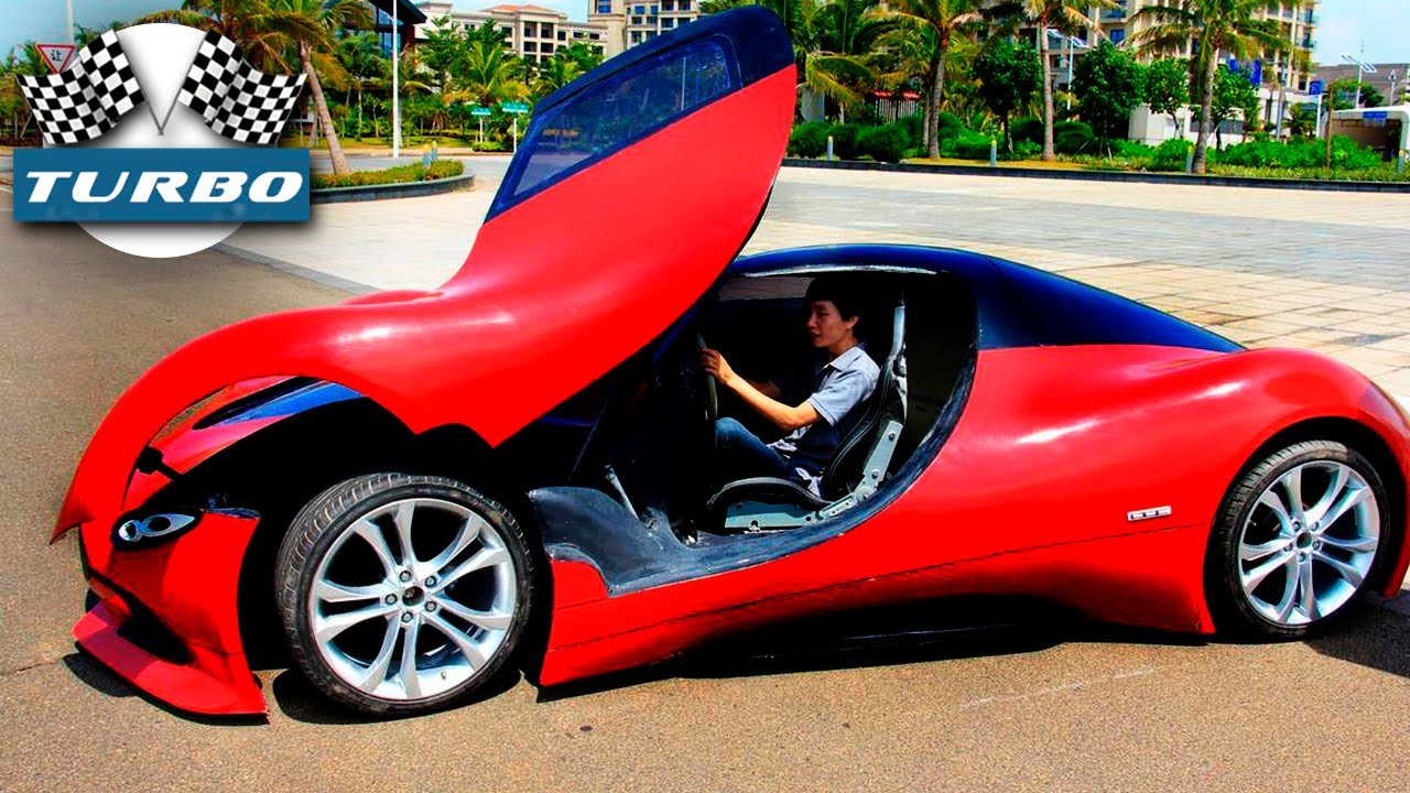 Как сделать самодельную машину видео фото 867