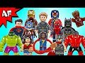 Lego DC & Marvel Minifigures 2017 Complete Collection