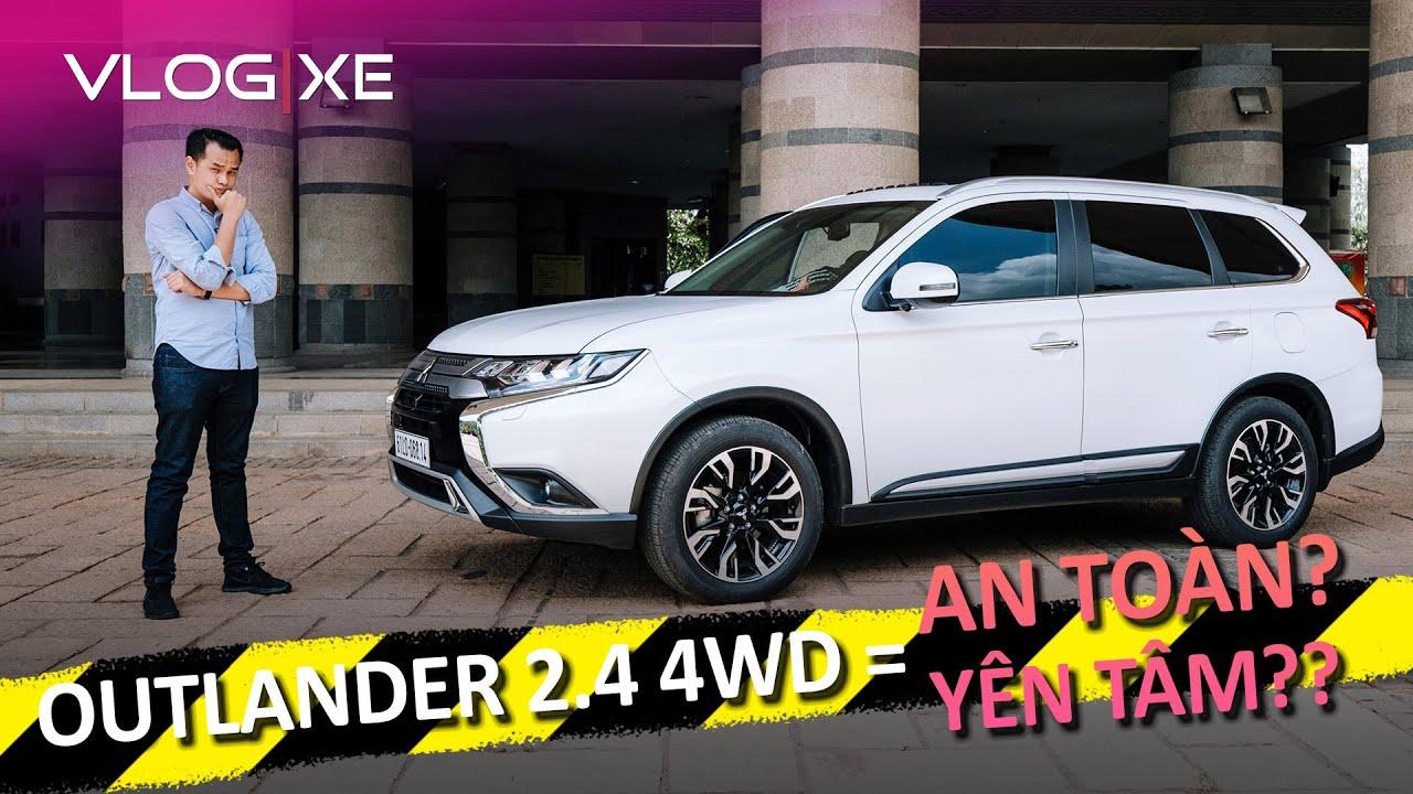 Đánh giá Mitsubishi Outlander 2.4 nâng cấp 2020 - Xe an toàn nhất trong tầm 1 tỷ? | Vlog Xe