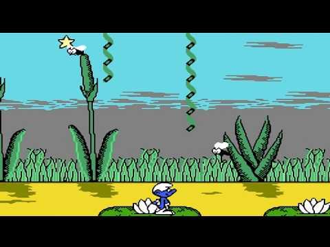 The Smurfs NES longplay, Смурфики прохождение игры денди [129]