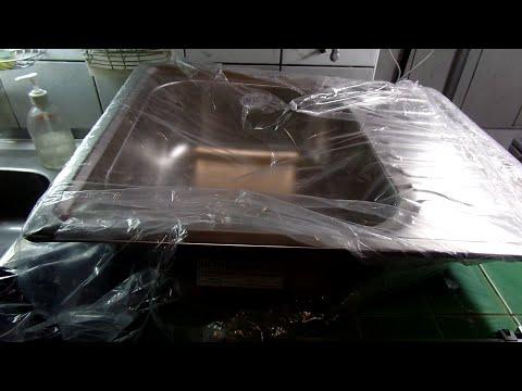 Кухонная мойка из нержавейки и недорогие ножки для будущей кухни