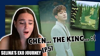 Download lagu CHEN (첸) April, and a flower ALBUM REACTION | Selina's EXO Journey Ep.57
