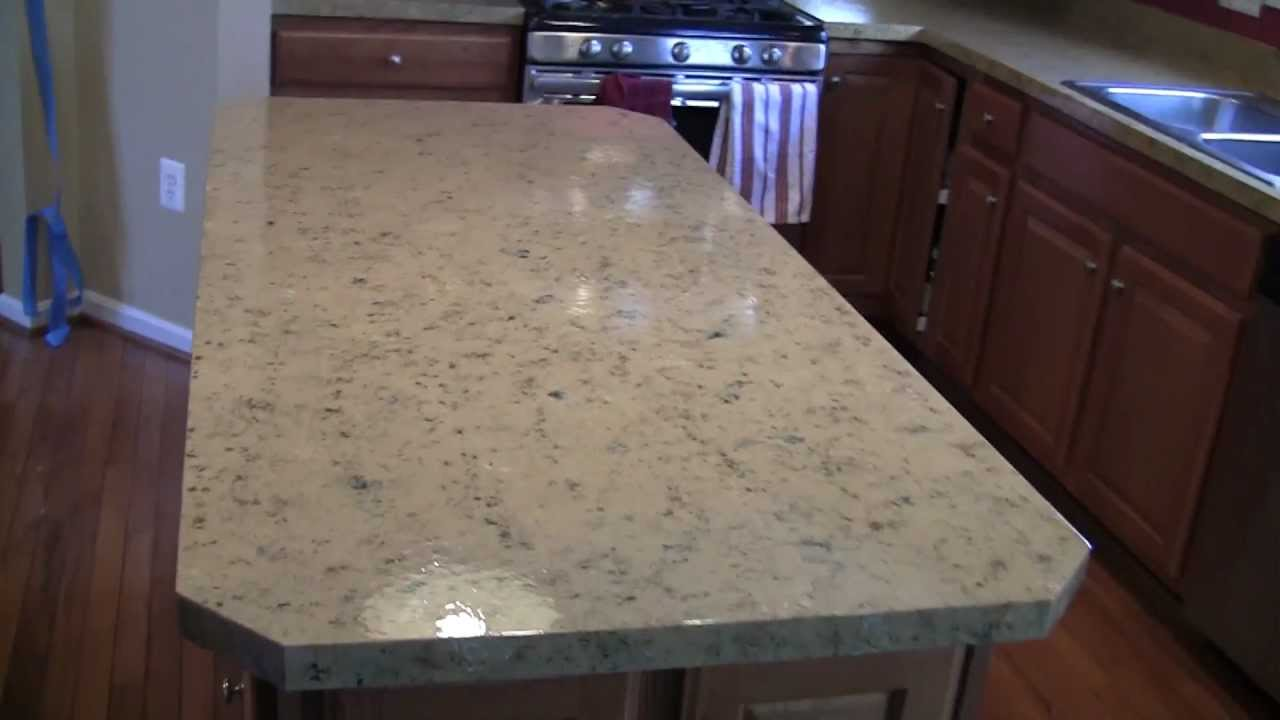Fichtner Services High End Faux Granite Glazing Youtube