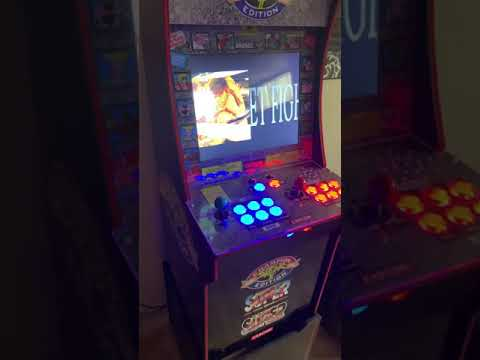 Arcade 1up Street Fighter II-Retropie from Motion Museum
