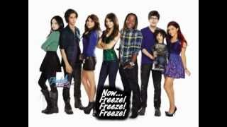 Five fingaz (To The Face) || Victorious Cast (Studio Version) [lyrics on screen]
