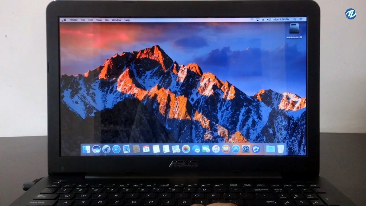 macOS Sierra on ASUS A555L Laptop | Hackintosh |