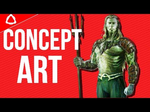 Justice League Mortal CONCEPT ART!? (Cancelled Justice League Movie!)