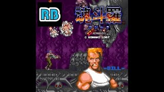 1987 [60fps] Contra Nomiss ALL